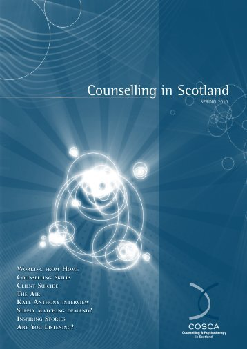 Counselling in Scotland - COSCA