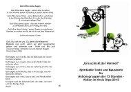 Gebetsheft zur 72-Stunden-Aktion - BDKJ Kreisverband Olpe