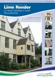 Lime Render - South Gloucestershire Council