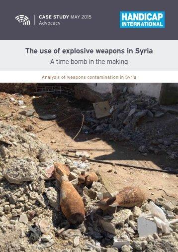 ExplosiveWeaponsinSyria