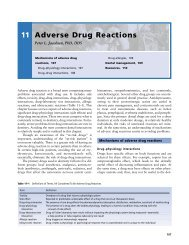 Ch11: Adverse Drug Reactions - SQU Home
