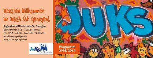 JuKS Jahresprogramm 2013/2014 für Kinder und Jugendliche - PDF ...