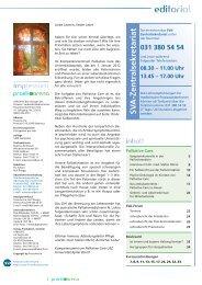 editorial - Kompetenzzentrum Palliative Care USZ
