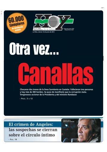las sospechas se cierran sobre el círculo íntimo - Diario Hoy
