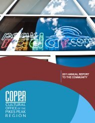 2011 ANNUAL REPORT TO THE COMMUNITY - COPPeR