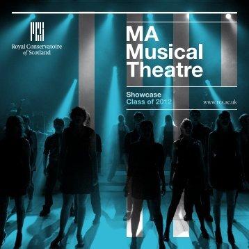 Showcase Class of 2012 - Royal Conservatoire of Scotland