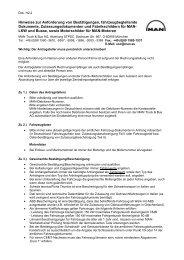 H2.2 Hinweise zur Anforderung von Bestätigungen und ... - MANTED