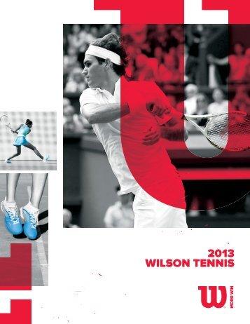 2013 WILSON TENNIS