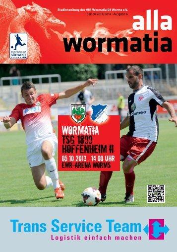 WORMATIA TSG 1899 HOFFENHEIM II - Wormatia Worms