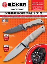 Sommerspecial 2013 als PDF herunterladen - Böker