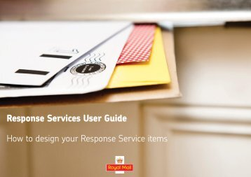EIB Response Services User Guide V2.1 - Royal Mail