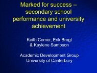 Marked for success - aair
