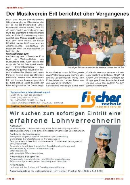 Die Fotorunde Edt-Lambach - Up-to-date