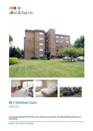 4B 1 Hutchison Court Giffnock - Sequence