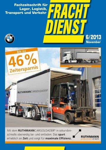 Fachzeitschrift für Lager, Logistik, Transport und VerkehrFRACHT