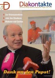 Nr. 29 - 1/2013 - Diakone Österreichs