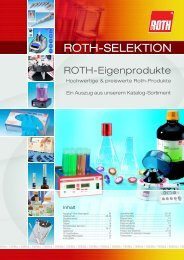 ROTH-SELEKTION - Carl Roth