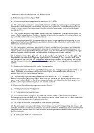 Allgemeine Geschäftsbedingungen der neolern GmbH 1 ...