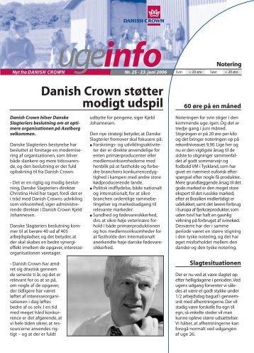 ugeinfo - Danish Crown
