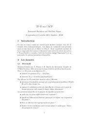 TP R sur l'ACP - Inra