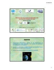 21/04/2010 1 Monitoreo de los procesos de desertificación ... - Inpe