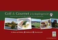 Golf & Gourmet Keplinger_2013 - Landhotel Keplingerwirt