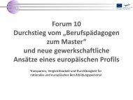 Der European Workplace Tutor - Weiterbilden - Ausbilden - Prüfen