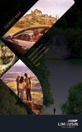 TOURIST M AP - Tourisme en Limousin