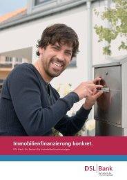 Immobilienfinanzierung konkret - DSL Bank