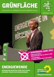 4/2012: Energiewende - Bündnis 90/Die Grünen Hessen