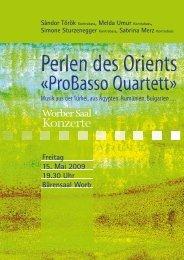Perlen des Orients - Worber Saal Konzerte