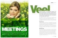 Dat ook de meeting markt duurzaam en 'groen' hoort te zijn staat ...