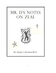 mr. d's notes on zeal - The Dericksons