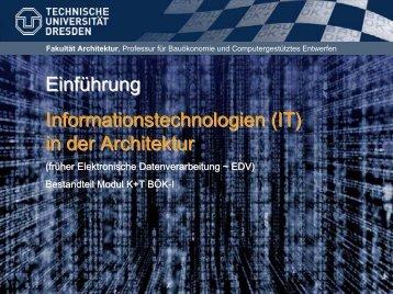 Fakultät Architektur - Home