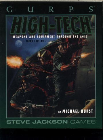 GURPS - High-Tech 3r..