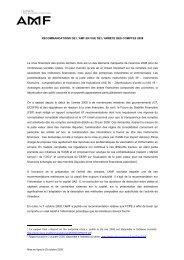 RECOMMANDATIONS DE L'AMF EN VUE DE L ... - LexisNexis