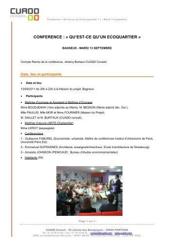 1e opération de logements - Bagneux