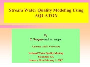 Presentation Pt. 2 - National Water Program