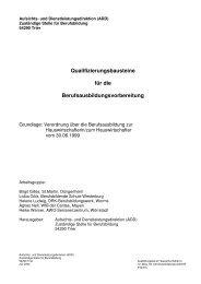 Qualifizierungsbausteine für die ... - Aufsichts