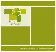 PDF download - Tennisclub Graz-Reininghaus
