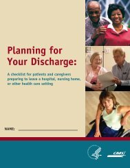 Planning for Your Discharge: