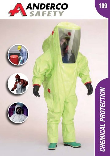 CHEMICAL PRoTECTIoN - Anderco