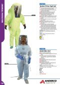 CHEMICAL PRoTECTIoN - Anderco - Page 2