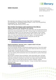 Benary-New Varieties at Flower Trials 2011 _2_.docx - Clamer Informa