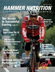 Hammer Nutrition 2008 Catalog