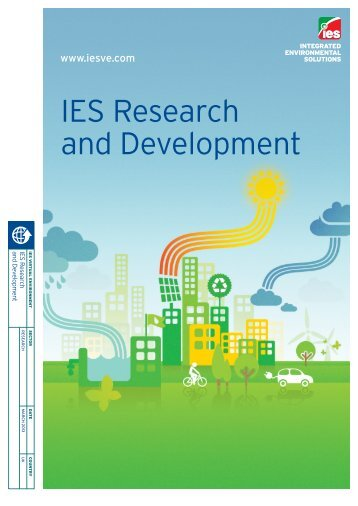 IES Research and Development - Integrated Environmental Solutions