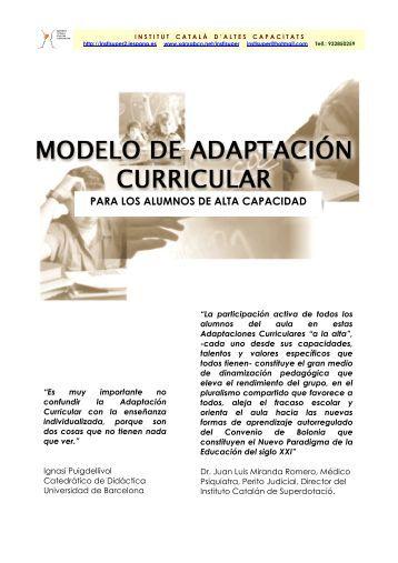 PARA LOS ALUMNOS DE ALTA CAPACIDAD - Confederación ...