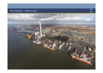 Port of Esbjerg – offshore wind