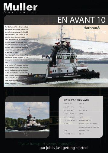 download leaflet En Avant 10 - Muller Dordrecht
