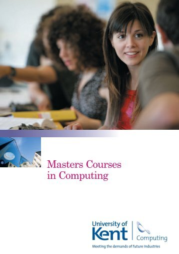 Masters Courses in Computing - University of Kent